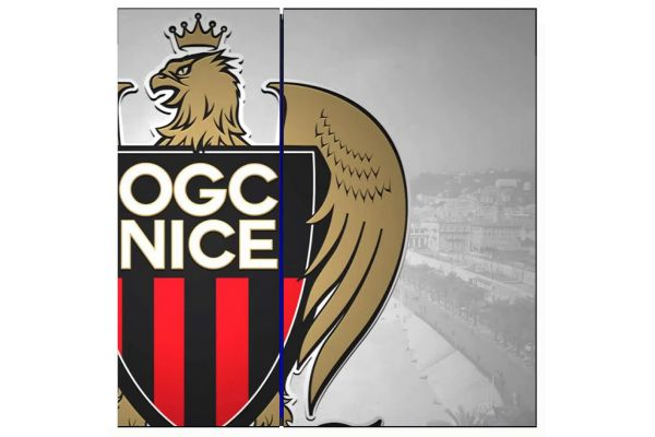 Stickers skin OGC NICE pour PS4