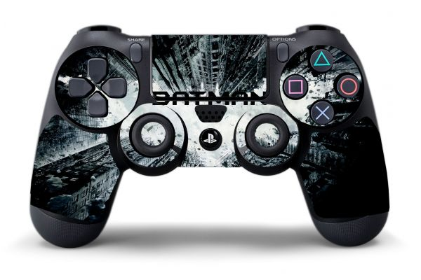 Sticker manette PS4 Dark Knight