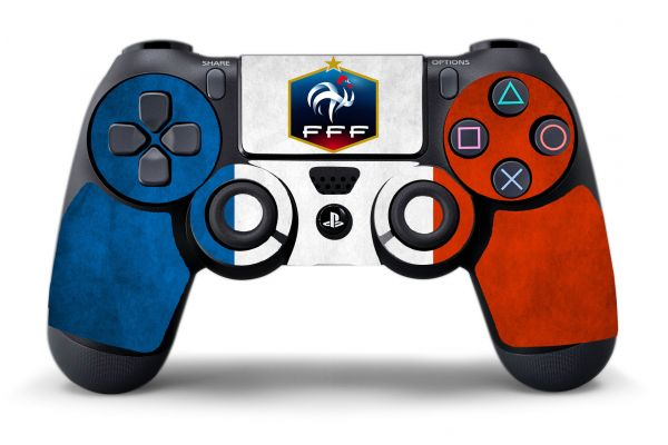 Sticker France pour manette PS4