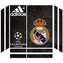 Autocollant skin Real Madrid pour PS4