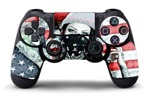 Sticker Tattoo Girl pour PS4