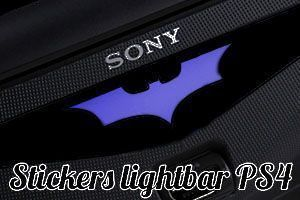Sticker lightbar PS4