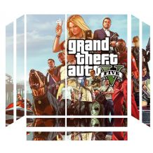 Sticker GTA V pour PS4