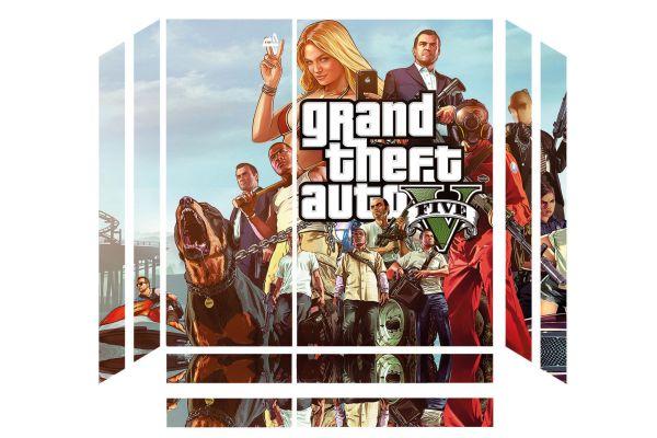 Sticker skin GTA V pour PS4