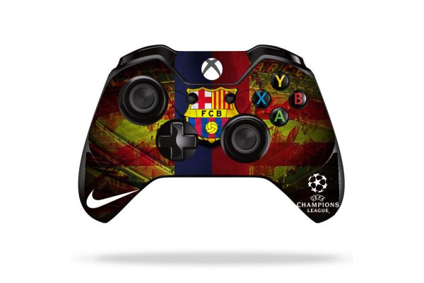 Sticker FC Barcelone pour manette xBox One
