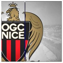 Stikcer OGC NICE pour PS4