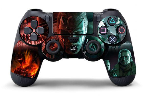 Sticker Metal Gear Solid pour manette PS4