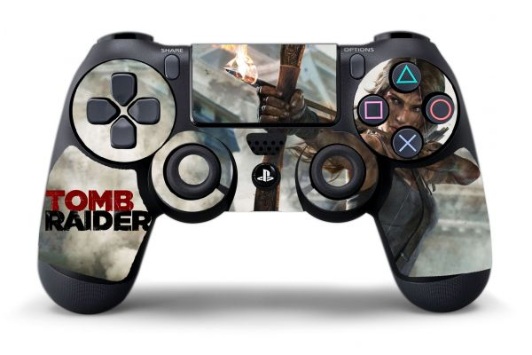Sticker Tomb Raider pour manette PS4