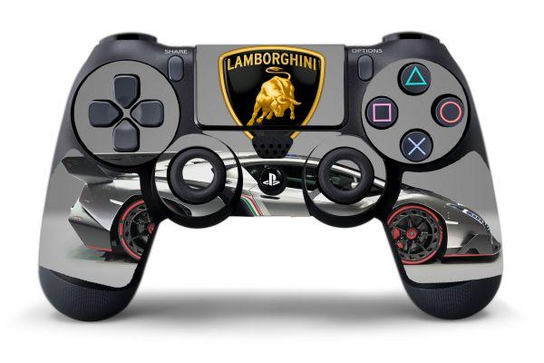Sticker pour manette PS4 Lamborghini