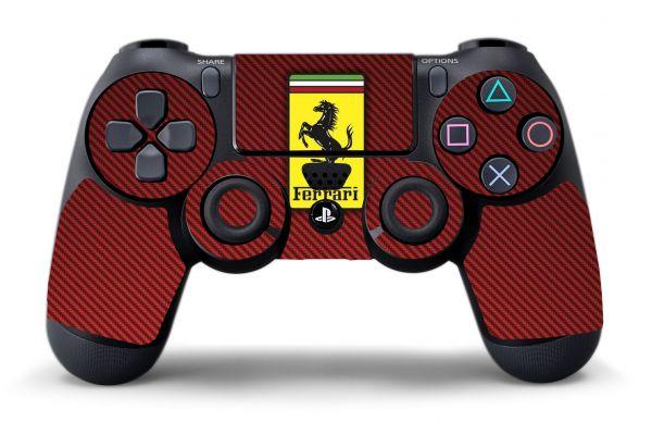 Sticker Ferrari pour manette PS4