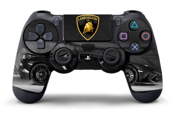 Sticker Lamborghini manette PS4