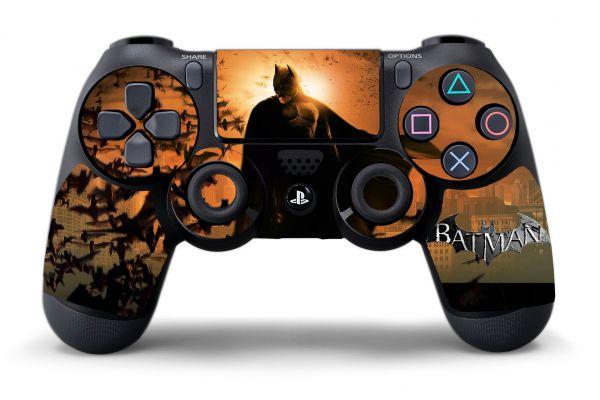 Autocollant Batman pour manettes PS4