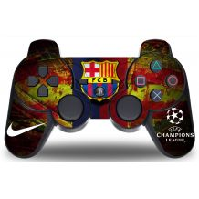 Sticker FC Barcelone pour manette PS3