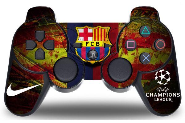 Sticker FC Barcelone pour manette PS3