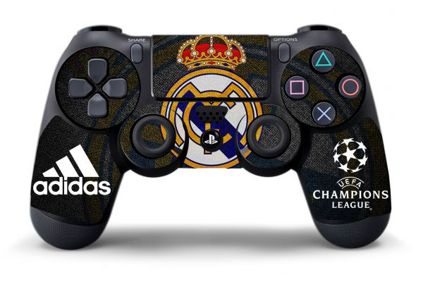 Sticker Real Madrid pour manette de PS4