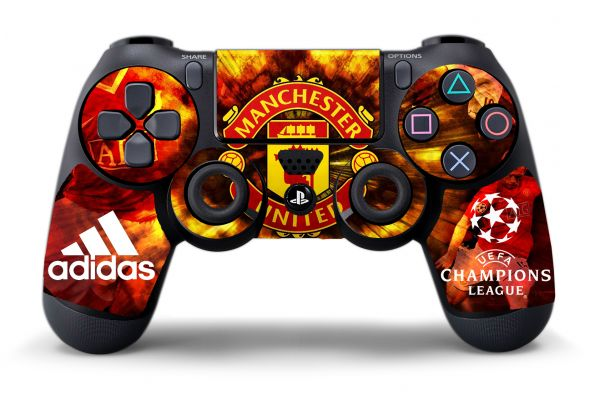 Sticker Manchester United pour manettes PS4