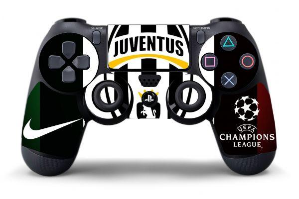 Sticker Juventus pour manettes PS4