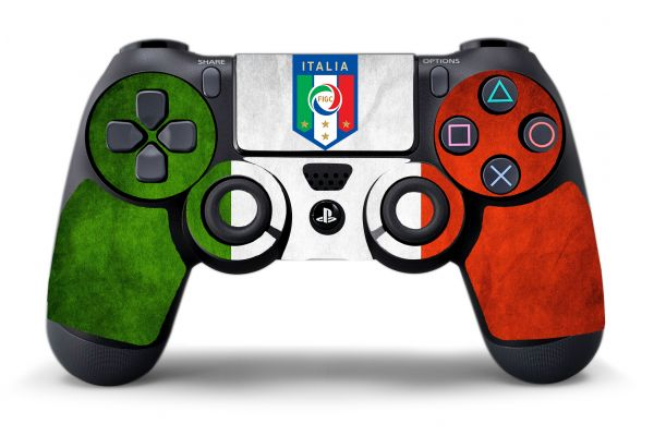 Sticker Italie pour manette PS4
