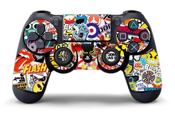 Stickers Logo pour manette PS4