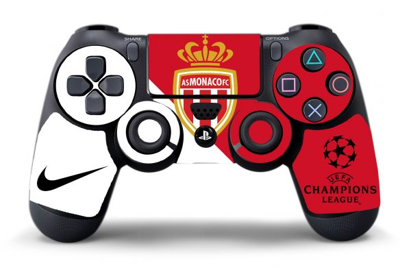 Sticker AS Monaco pour manettes PS4