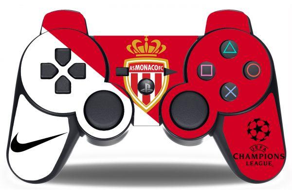 Sticker AS Monaco pour manette PS3