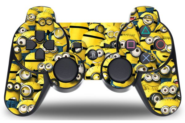 Sticker Minions pour manette PS3