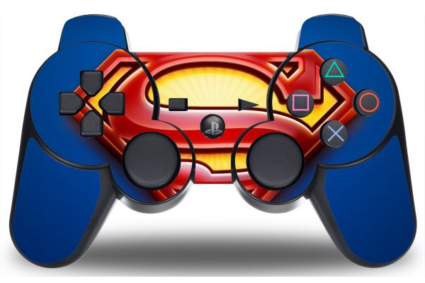 Sticker Superman pour manette PS3