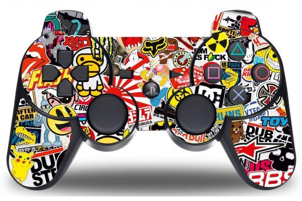 Sticker Logo pour manette PS3