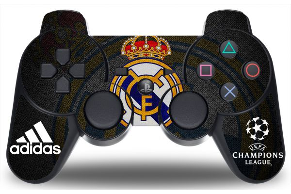 Sticker Real Madrid pour manette PS3