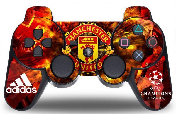 Sticker Manchester United pour manette PS3