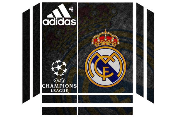 Sticker skin Real Madrid pour PS4