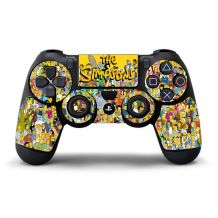 Sticker manette PS4 Simpson
