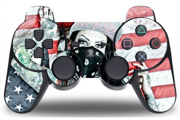 Sticker Tattoo Girl pour PS3