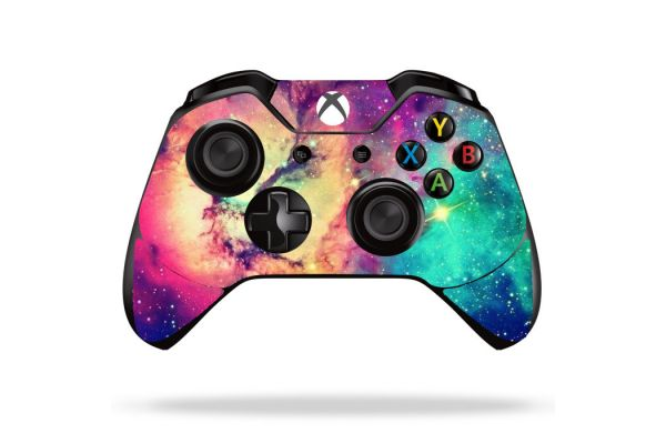 Sticker galaxy pour manette de xBox One