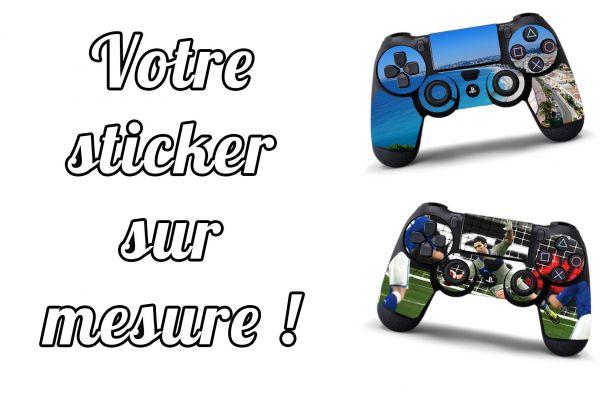 Stickers personnalisé pour manette PS4
