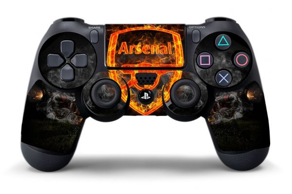Sticker Arsenal pour manette PS4