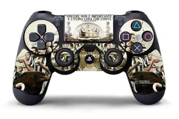 Autocollant Juventus pour manette PS4